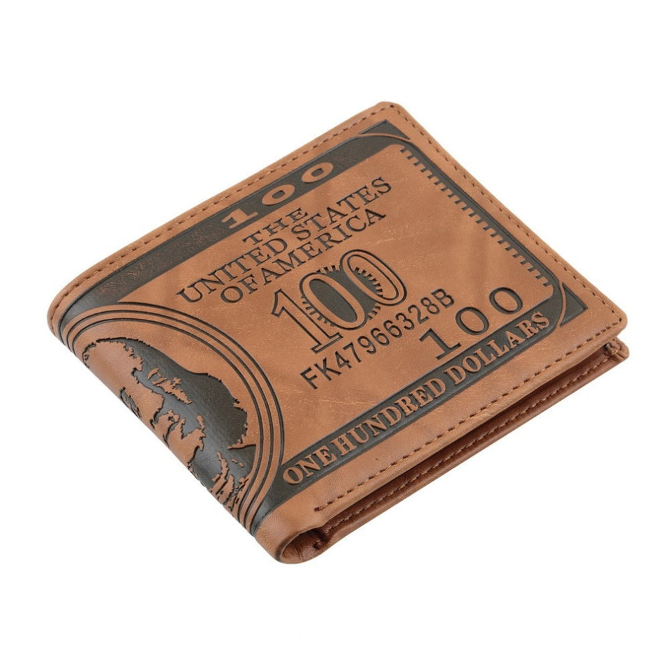 100 Dollar Bill Money Print Wallet - wallet - eDealRetail - 2