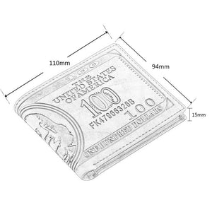 100 Dollar Bill Money Print Wallet - wallet - eDealRetail - 4
