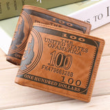 100 Dollar Bill Money Print Wallet - wallet - eDealRetail - 1