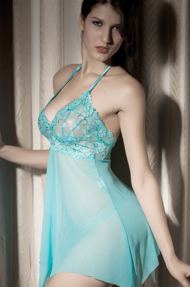 Sexy Stretch Babydoll Lace Nightwear - lingerie - eDealRetail - 3