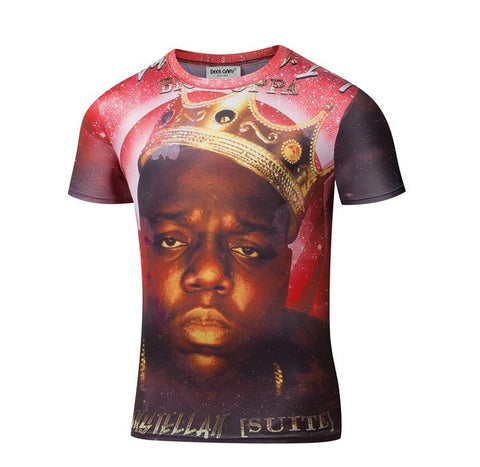 Notorious BIG 3D Print T-Shirt - 3D T-Shirts - eDealRetail