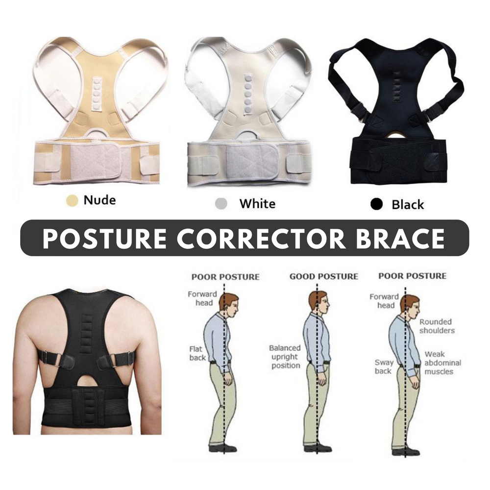 Posture Corrector Brace – Shoulder and Back Support