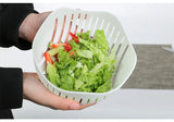 60 Second Salad Chopper Bowl - Prepare Quick Salads!