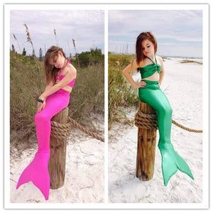 Little Mermaid Bikini Costume For Kids - Costume - eDealRetail - 1