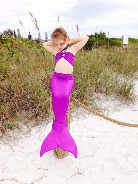 Little Mermaid Bikini Costume For Kids - Costume - eDealRetail - 9