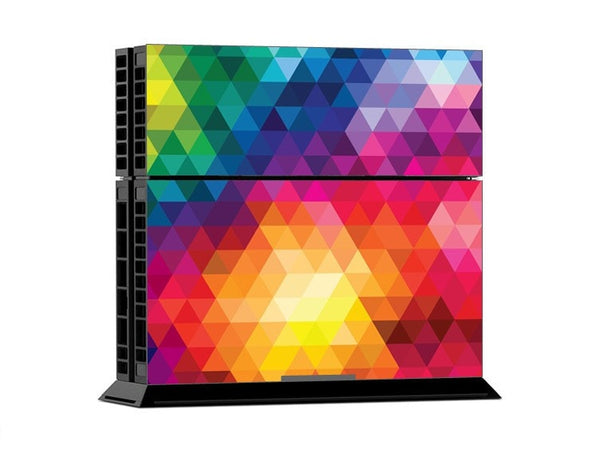 Colorful Rainbow PS4 Skin + 2 Controller Skins - PS4 Skins - eDealRetail - 2
