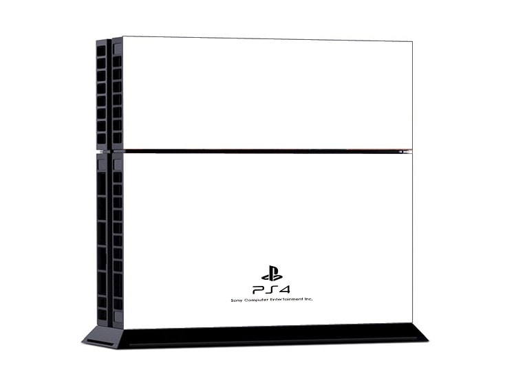 Solid White PS4 Skin + 2 Controller Skins - PS4 Skins - eDealRetail - 2