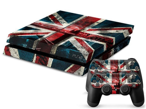 British Flag Retro PS4 Skin + 2 Controller Skins - PS4 Skins - eDealRetail - 1