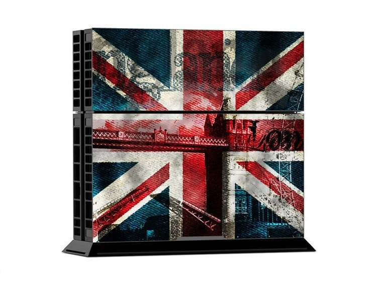 British Flag Retro PS4 Skin + 2 Controller Skins - PS4 Skins - eDealRetail - 2