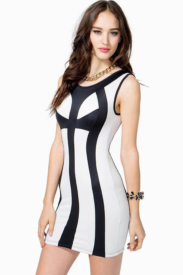 Sexy Bandage Bodycon Cocktail Club Dresses - Dresses - eDealRetail - 3