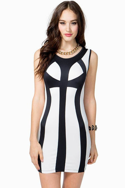 Sexy Bandage Bodycon Cocktail Club Dresses - Dresses - eDealRetail - 2