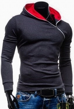 Side Zipper Pullover Hoodie - Hoodies - eDealRetail - 3