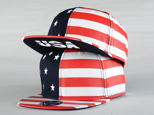 USA American Flag Adjustable Snapback Hat - Hats - eDealRetail - 2