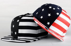 USA American Flag Adjustable Snapback Hat - Hats - eDealRetail - 9