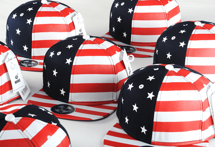 USA American Flag Adjustable Snapback Hat - Hats - eDealRetail - 10