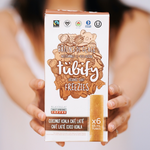 Load image into Gallery viewer, Coconut Koala Cafe Latte Freeze Pop Freezies (72 Freezie Bulk Case) - Tubify Shop