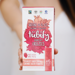Load image into Gallery viewer, Raspberry Raven Freeze Pop Freezies (72 Freezie Bulk Case) - Tubify Shop