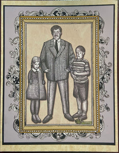 Gomez Addams Father's Day Card