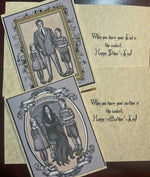 Load image into Gallery viewer, Gomez Addams Father's Day Card