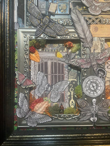 "Assemblage Shadowbox Series ""Reflections on 2020"""
