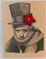 Load image into Gallery viewer, scrooge bah hum bug card