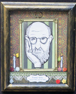 Load image into Gallery viewer, Edward Gorey Dia de los Muertos tribute shadowbox