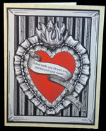 Load image into Gallery viewer, Heart Quote Valentine's Cards - Various