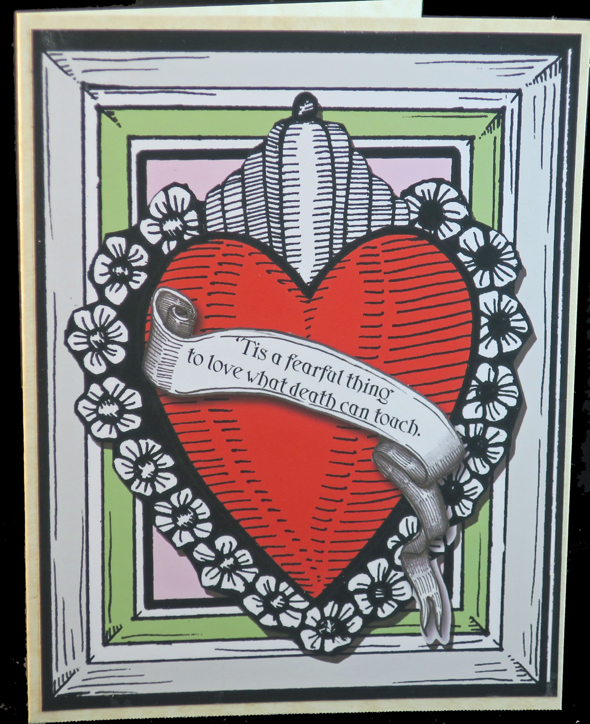 Heart Quote Valentine's Cards - Various