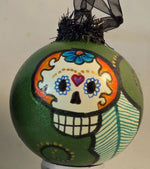 Load image into Gallery viewer, Sugar Skull Christmas/Other Holiday Ornaments Dia de los Muertos/Day of the Dead
