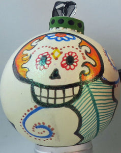 Sugar Skull Christmas/Other Holiday Ornaments Dia de los Muertos/Day of the Dead