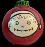 Load image into Gallery viewer, Yeah Yeah Merry Christmas Whatever ornament back