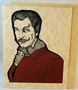 Vincent Price Birthday Card