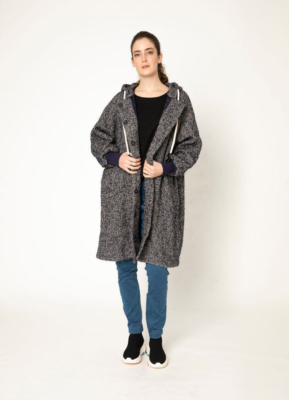 TWO BY TWO TAYLOR WOOL COAT