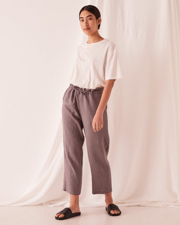 ASSEMBLY OLLIE LINEN PANT