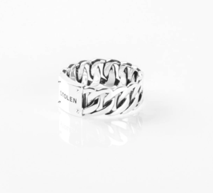 STOLEN CURB UNISEX RING WIDE