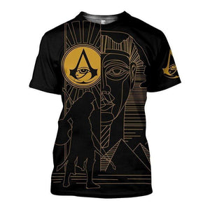 Ancient Egypt 3D All-over Printed T-shirt 2021 Custom Design 87