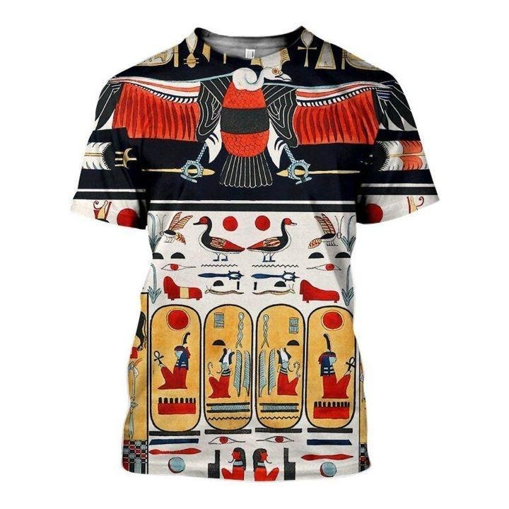 Ancient Egypt 3D All-over Printed T-shirt 2021 Custom Design 01