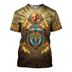 Ancient Egypt 3D All-over Printed T-shirt 2021 Custom Design 36