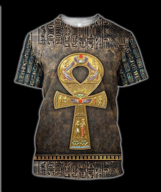 Ancient Egypt 3D All-over Printed T-shirt 2021 Custom Design 78