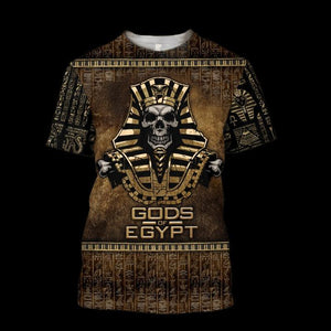Ancient Egypt 3D All-over Printed T-shirt 2021 Custom Design 73