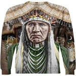 Load image into Gallery viewer, Native American Chief 3D Full Print Hoodie & Zip-Up Hoodie hh