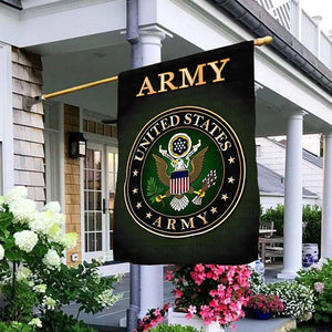 US Army Veteran Garden and House Flag