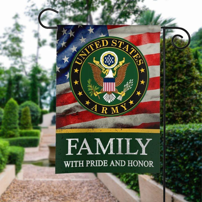Army Family Honor Garden and House Flag