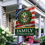 Load image into Gallery viewer, Army Family Honor Garden and House Flag