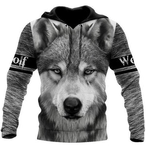 Wolf 3D All Over Printed Hoodie