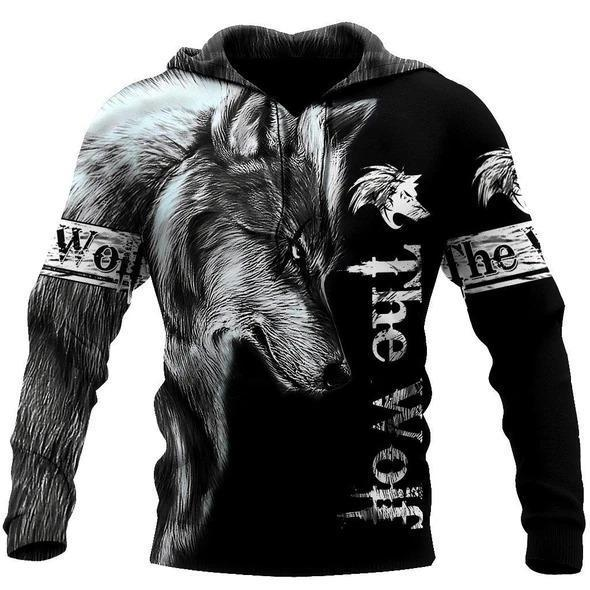 Wolf 3D All Over Printed Hoodie For Men and Women MH010920