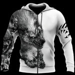 Load image into Gallery viewer, TH Tattoo Wolf 3D All Over Printed Hoodie For Men and Women MH2310202ST
