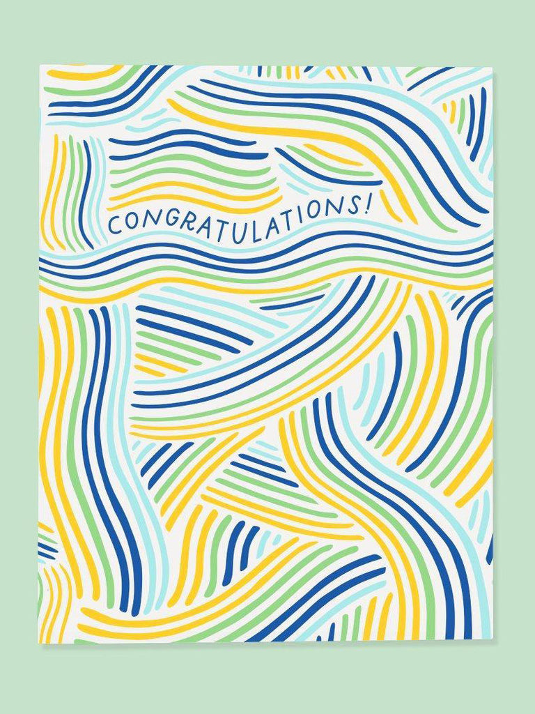 Wave Congrats Card