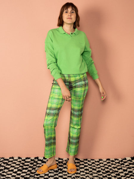 Jungle Plaid Pants