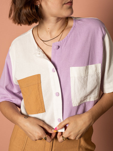 Bahia Crop Shirt